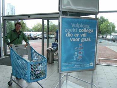 Albert Heijn | ervoor gaan | Femke van Heerikhuizen | foto: Elli Brethouwer