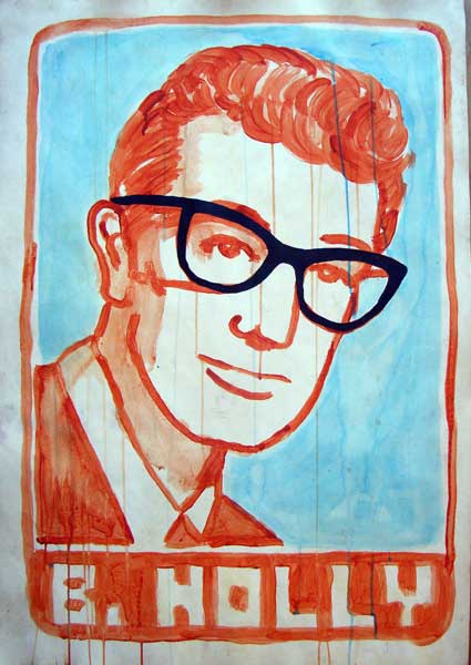 Buddy Holly | painting