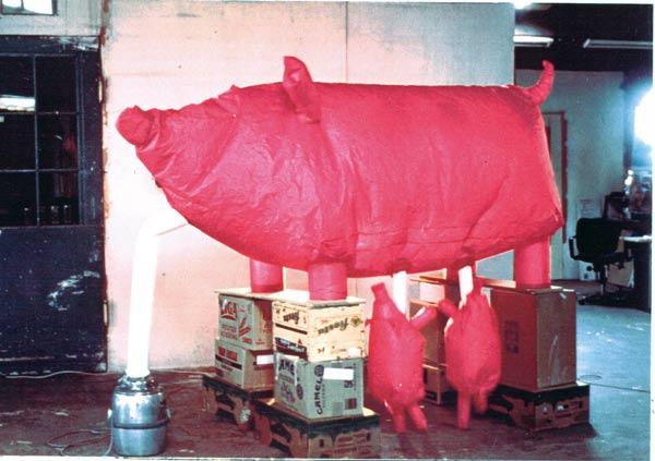 Melkmachine | opblaasbeeld | inflatable