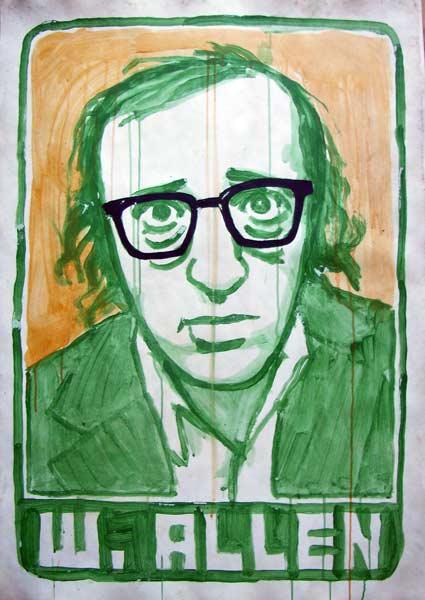Woody Allen by R. Venke van Geerik